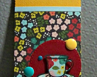 Cup Of Tea...  Gift Card Holder...