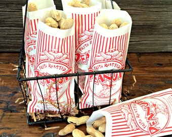 100 Pack Peanut Bags, Carnival/Circus/Birthday Party,  Picnic Supply