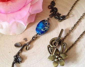"Necklace ""The Ostara dew"""