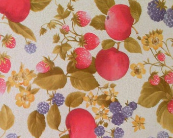 """55"""" Provence OilCloth with Felt Back - 30 Yards"""