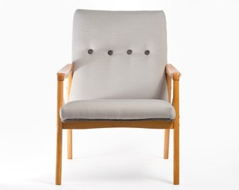 Refurbished Danish Mid Century Modern Chair