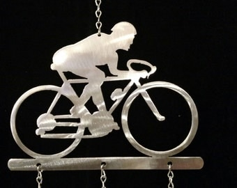 Cyclist Wind Chime