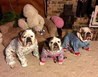 Dog Pajamas in lightweight stretch