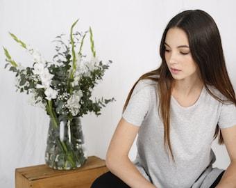 Organic cotton grey t-shirt