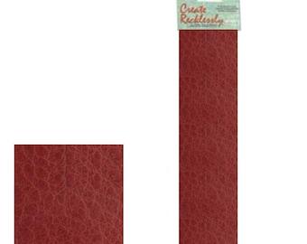 """Leather 10"""" x 2"""" Strip, 1 Piece, Cardinal For create Jewelry Wa 540-103"""