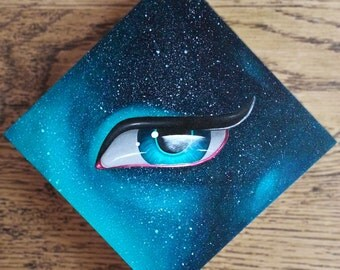 Galaxy Eye Original Painting