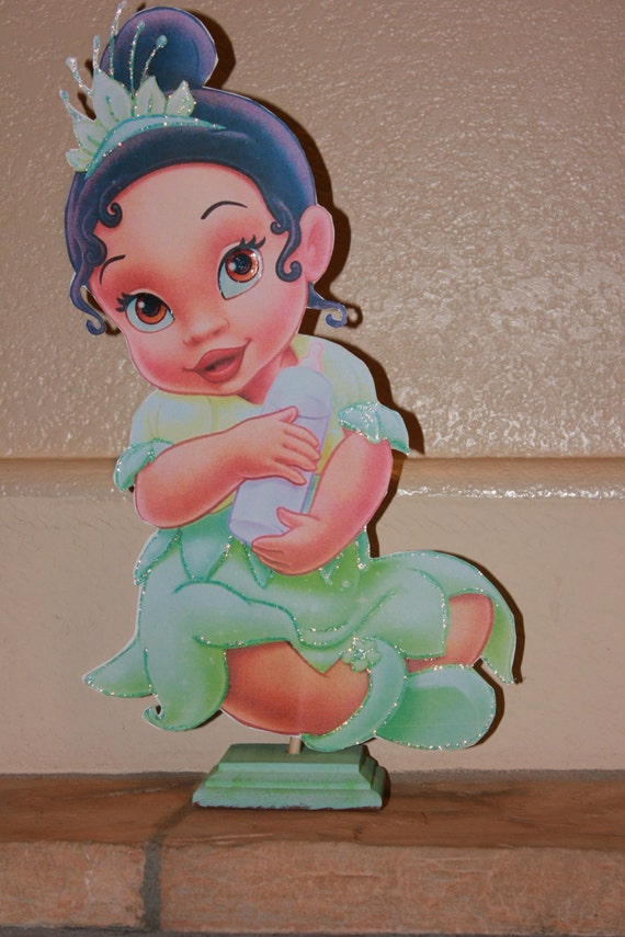 Princess Tiana Baby Shower Centerpiece Baby Girl Centerpiece