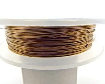 Rose Gold Wire, Square Wire, 20 Gauge Wire, Colored Copper Wire ...