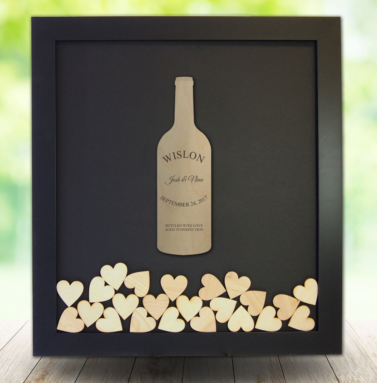 Wine Themed Wedding Vineyard Themed Wedding Guest Bookwine Bottle