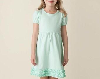 Girls Dress- Monogrammed Girls Dress