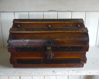 Vintage Travel Trunk - Original Patina