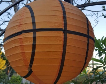 "Sport Lanterns 14"" Set of 4 Paper lanterns"
