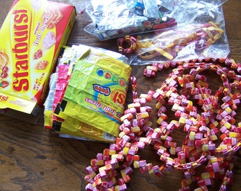 Candy Wrapper Crafts Starburst Purse Making Origami