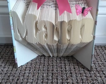 Folded book art pattern. Mam 468 pages
