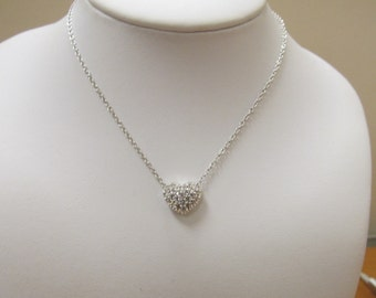 SWAROVSKI Crystal Heart Necklace Item W # 512