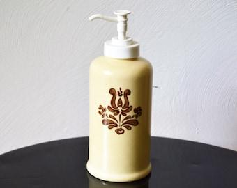 PHALTZGRAFF SOAP PUMP Dispenser Cream and Brown