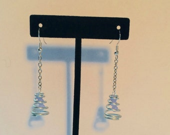 Spring and Glass Earrings