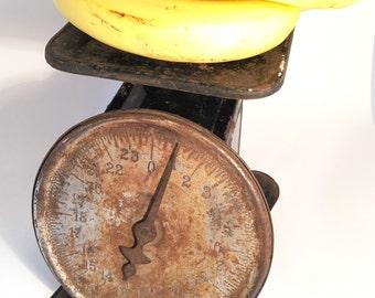 Vintage Kitchen Scale, Kitchen Scale, Rustic Kitchen, Rustic Scale,Vintage Kitchen Scale Rustic, Vintage Rustic Kitchen Scale