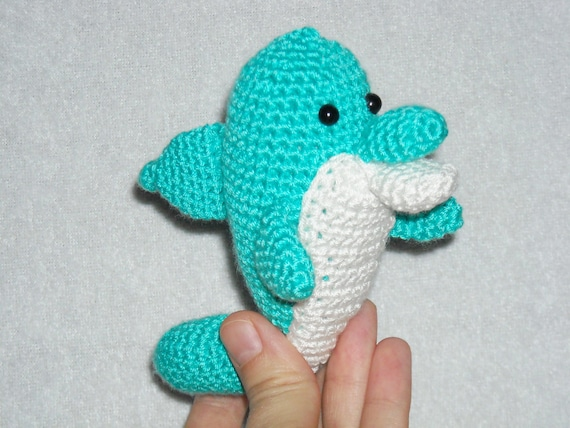 Amigurumi dolphin crochet dolphin little dolphin kawaii