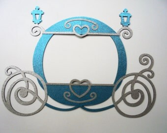 Party Proops Photo Booth Princess Frame Princess carriage