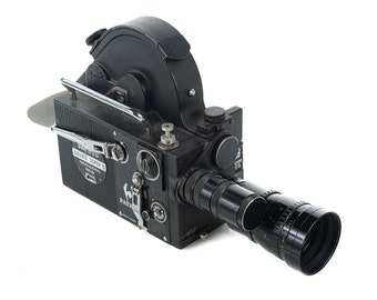 Pathe DS8 BTL Double Super 8 Professional Reflex Movie camera w Angenieux zoom lens