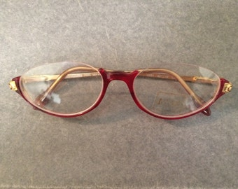 Jacques Dessange  Paris eyeglass frames, Made In France 0261 52 16 C1