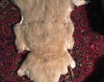 whole Merino pelt White