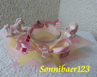 Tea lights - lanterns - baptism - birth