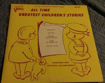 Varsity all time Grestest Children's Stories Record