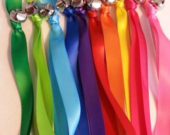 Rainbow Bell Wands
