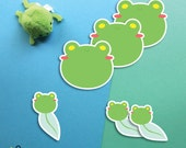 Floris the Frog stickers
