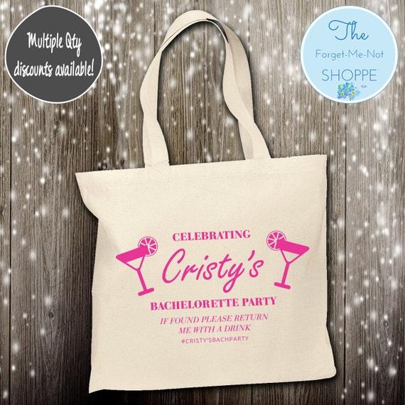 Bachelorette Party Wedding Canvas Tote Bags, Bachelorette, Wedding Favor Bags,Bridal , Married, Gifts, Favors, Bridesmaids