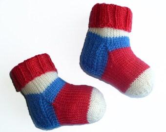 Baby Wool Socks Newborn Socks Hand Knit