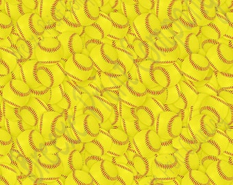 Softball print pattern craft  vinyl sheet - HTV or Adhesive Vinyl -  pattern vinyl  HTV196