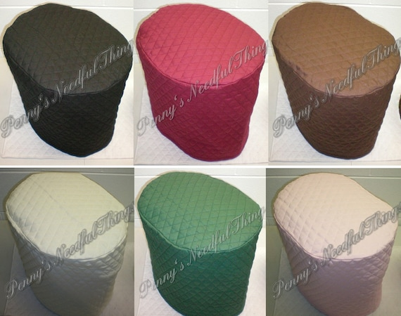 Quilted Keurig Coffee Maker Cover 11 Colors Available