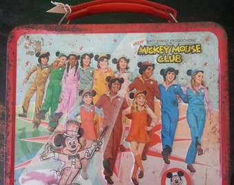 Mickey Mouse Club Lunchbox