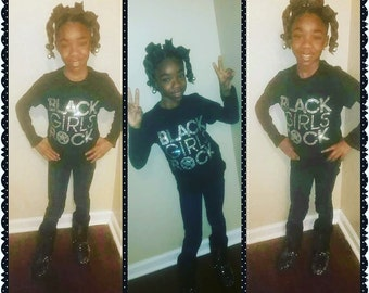 Blacks Girls Rock- Youth T-shirts-Sale