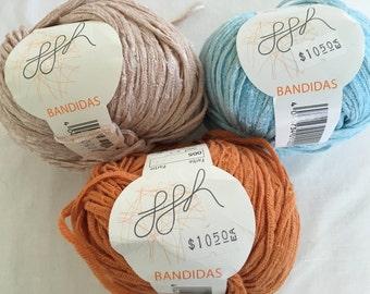 GGH Bandidas Bulky weight Cotton/Acrylic blend Ribbon yarn