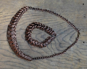 Egyptian Chain-Handmade copper chain-Necklace & bracelet