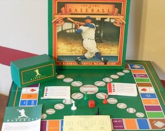 The Game of Baseball: A Baseball Trivia Board Game (1989)
