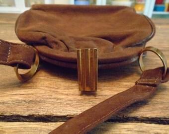 """Sale-Vintage """"Sac Parisien"""" Leather Purse"""