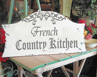 Superb French Country Kitchen   **Reusable STENCIL**   6 Sizes Available  Create