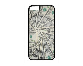 Cool Hundred Dollar Bills Money Design Black Or White case for iPhone 4 4s 5 5s 5c 6 6s  6 Plus iPod Touch Case