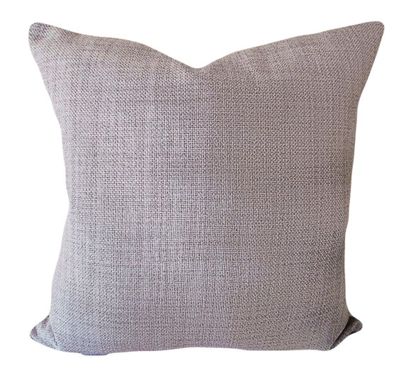 Grey Textured Decorative Pillow Cover Throw Pillow Toss