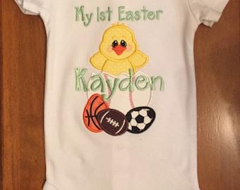 My 1st Easter Baby Boy Bodysuit or Shirt