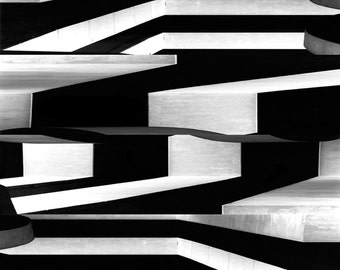 Fine Art Photograph, Living Room Bedroom, Abstract Art, Black and White, Home Decor