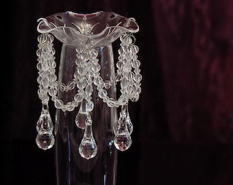 Bobeche Crystal Candle Ring