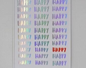 Box of 8 — Happy Happy card