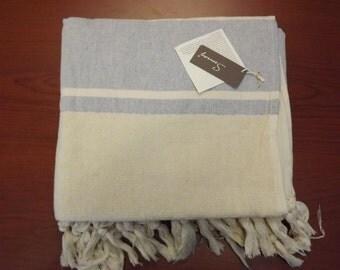 Turkish Bamboo And Cotton hand-loomed XL Bath Beach Towel Peshtemal