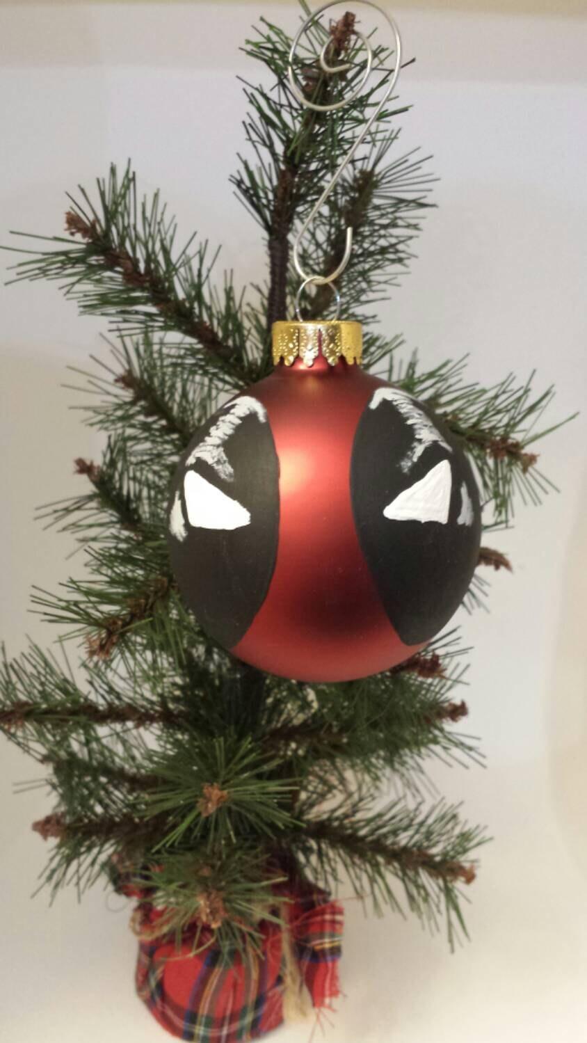 Deadpool Christmas Ornament